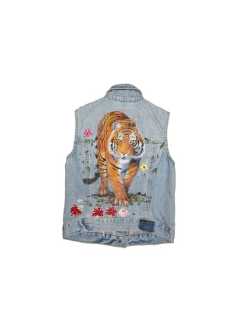 KIDS// DENIM VEST