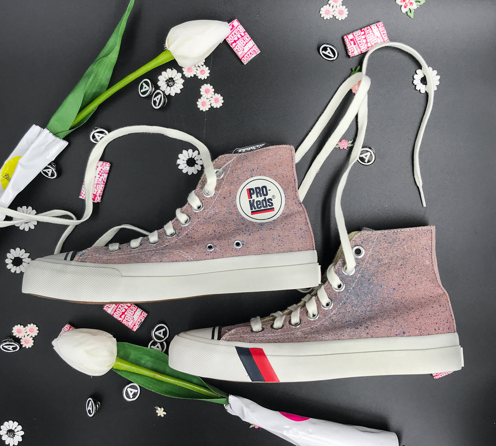PINK UNION X PRO KEDS X US ALTERATION