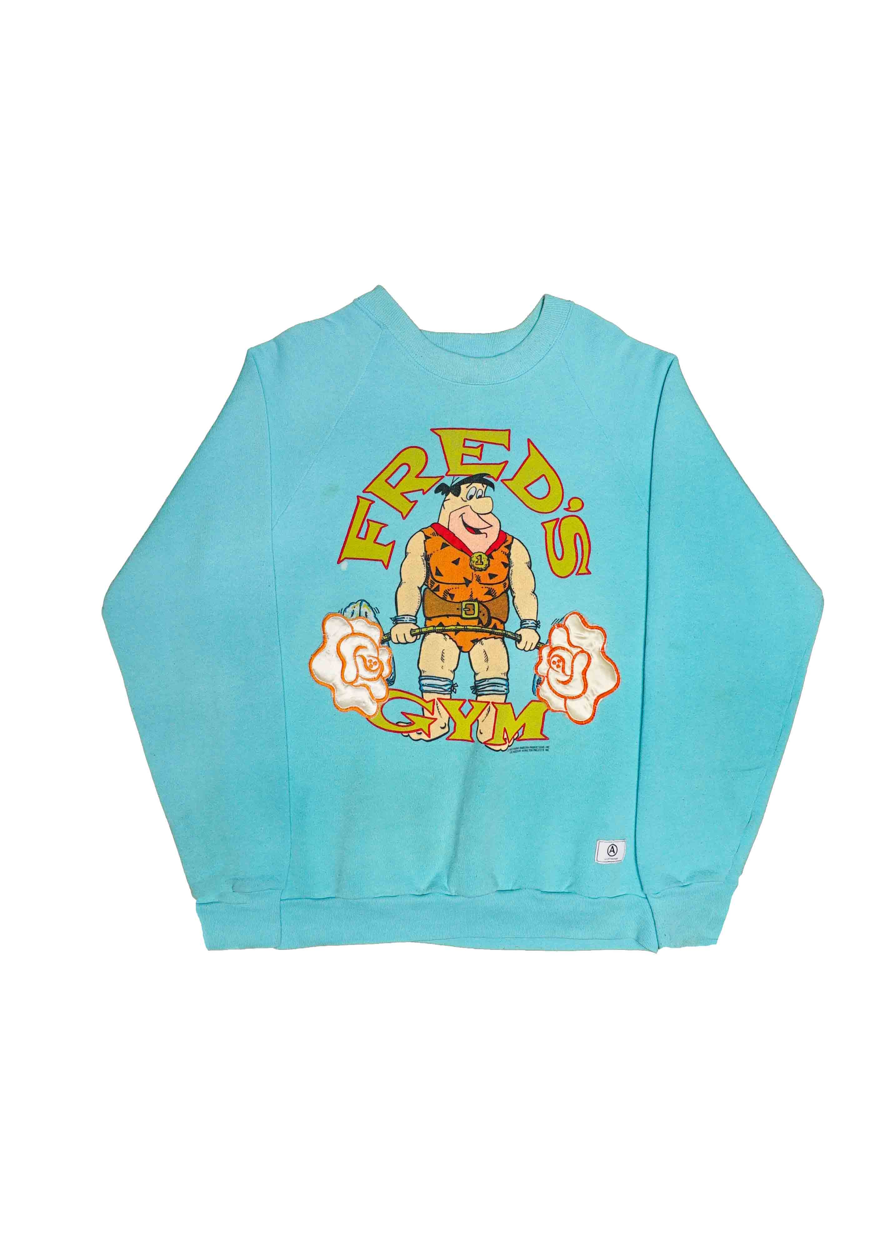 FRED FLINSTONE // US ALTERATION BLUE CREW NECK