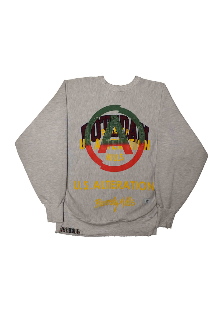 POTSDAM  // US ALTERATION GREY CREW NECK