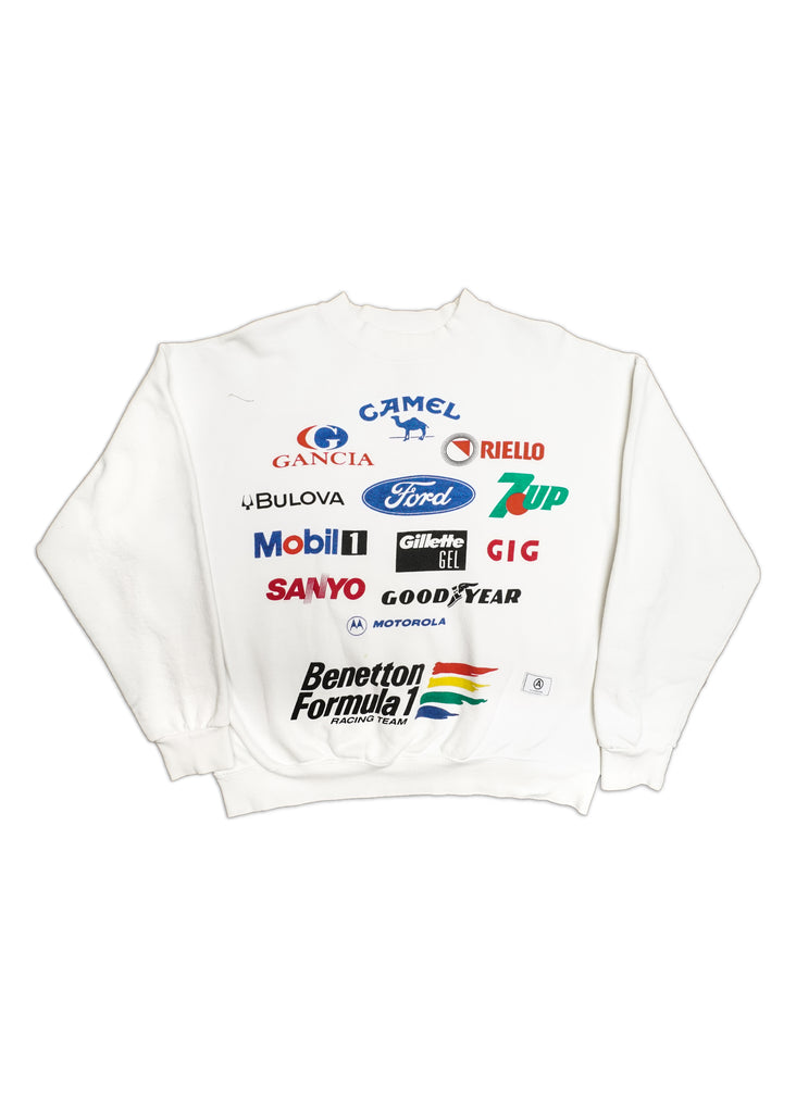BENTON FORMULA 1 CREW NECK // US ALTERATION