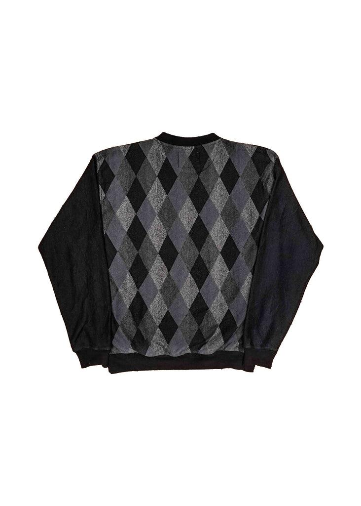 CHANEL PLAID CREW NECK // US ALTERATION
