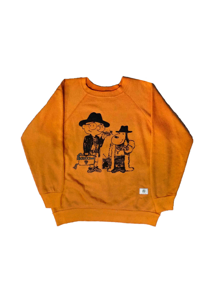 GUCCI ORANGE CREW NECK