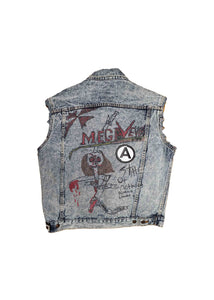 US ALTERATION // CUSTOMIZED DENIM VEST