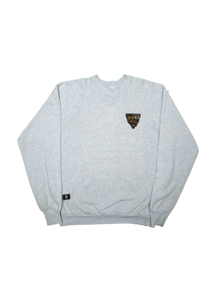 US ALTERATION HEATHER GREY CREW NECK