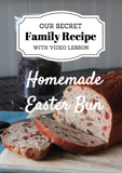 Fay's Easter Spice Bun – RECIPE with VIDEO DOWNLOAD