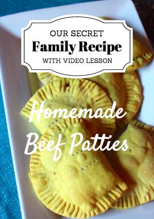 Fay's Homemade Beef Patty – RECIPE with VIDEO DOWNLOAD