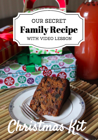 Fay's Jamaican Christmas Kit – 3 RECIPES with VIDEO DOWNLOAD