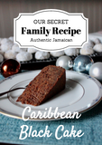 Caribbean Black Cake – RECIPE