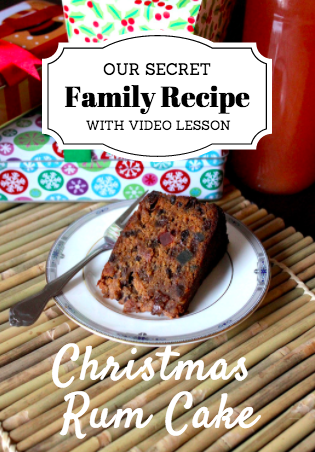 Fay's Jamaican Christmas Rum Cake – RECIPE with VIDEO DOWNLOAD