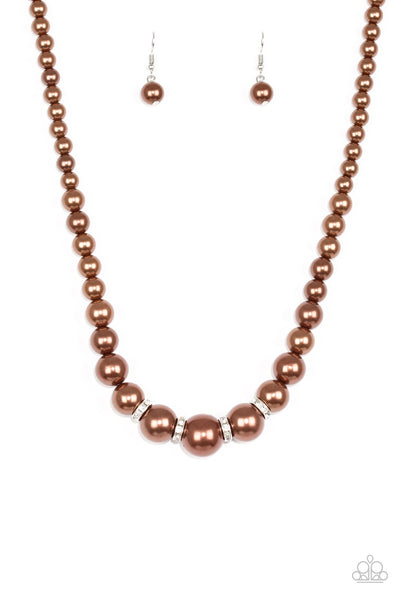 Party Pearls - Brown