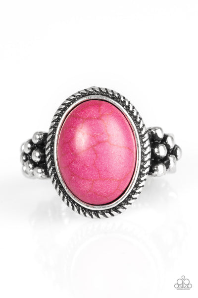 Stone Age Sophistication - Pink