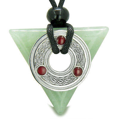 Amulet Celtic Triquetra Knot Trinity Magic Powers Triangle Good Luck Energies Gr