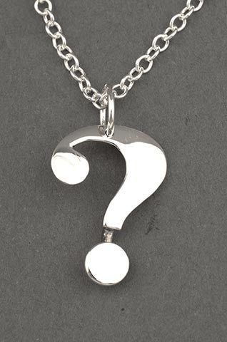 Question Mark Pendant