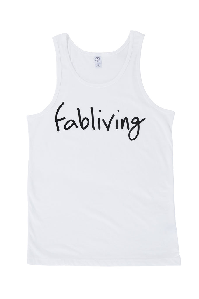 FP fabliving cotton tank (white/black)