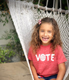"FP kids election ""Vote"" tee (white/red)"