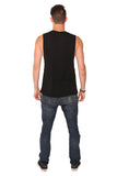 fabulous people solid muscle tee (black)