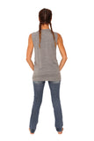 fabulous people solid muscle tee (heather grey)