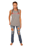 fabliving palm tree muscle tee (heather grey/red)