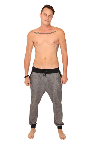 fabulous people solid joggers (salt and pepper)
