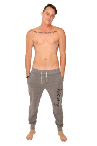 fabliving fleece pant (eco grey/black)