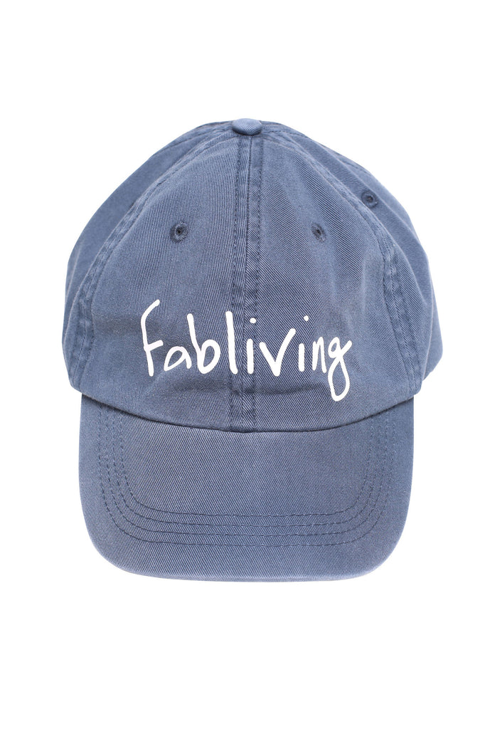 FP fabliving twill cap (light navy)