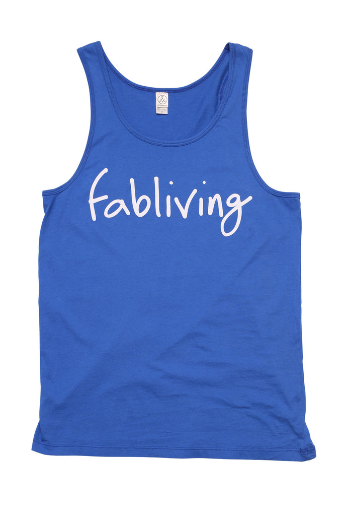 FP fabliving cotton tank (royal blue/white)