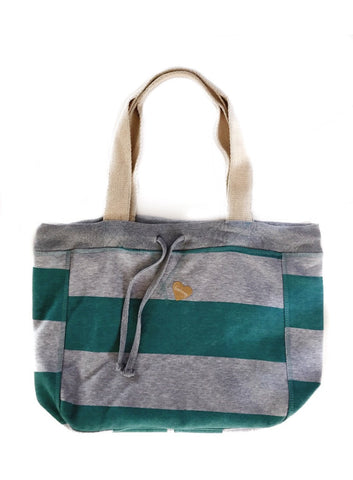 FP fabliving fleece beach bag (heather/pool blue)
