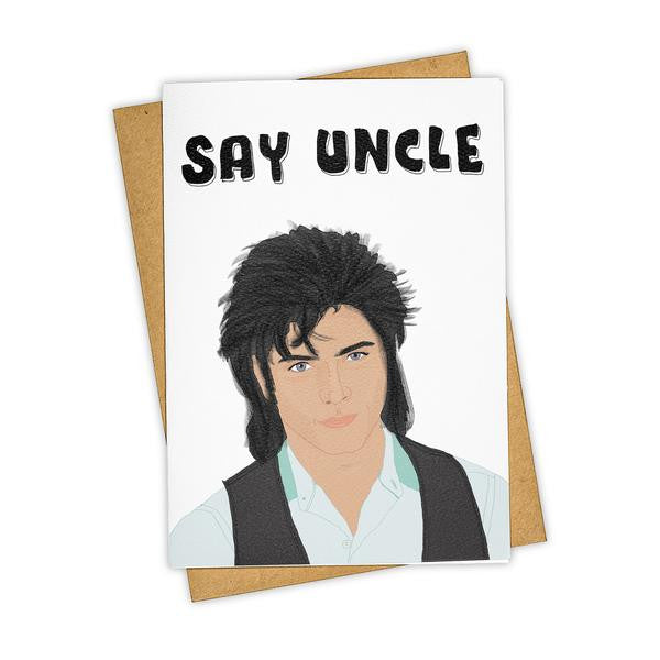 Say Uncle Card