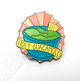Holy Guacamole Pin
