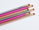 The Hustle is Real Pencils Mixed Pack - Set of 6