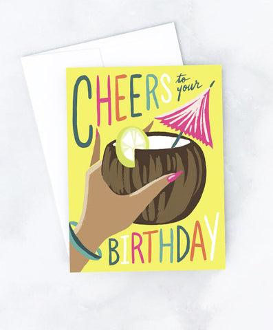 Birthday Cocktail Card