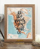 Places You Will Go 18 x 24 Poster