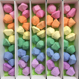 Rainbow Gemstone Sidewalk Chalk