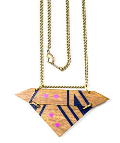 Ceres Wood Necklace