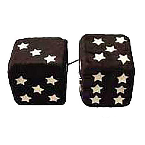 3 Inch Black with Glow-in-the-Dark Stars