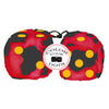 3 Inch Red Cow Fluffy Dice