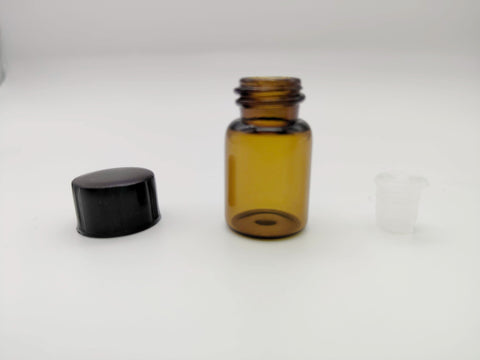 Glass Essential Oil Bottle With Orifice Reducer