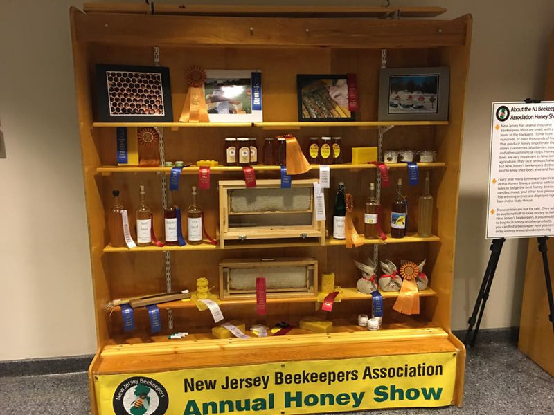 Four Awards Including Best in Cosmetics Division at 2017 New Jersey Beekeepers Association Honey Show