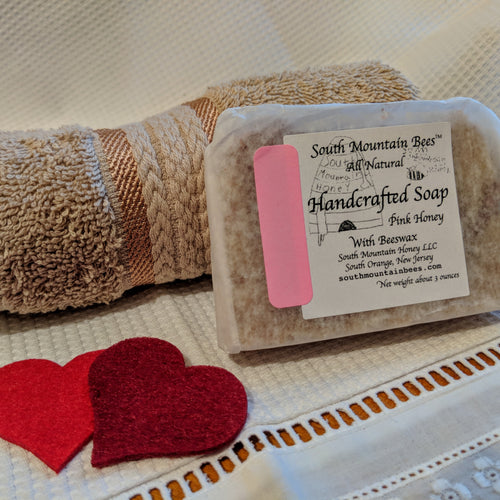 Valentine's Soap and Washcloth Gift Set
