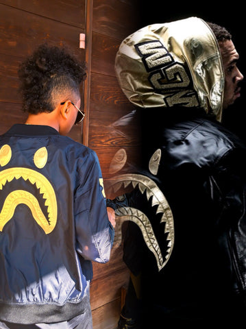 chris brown bape