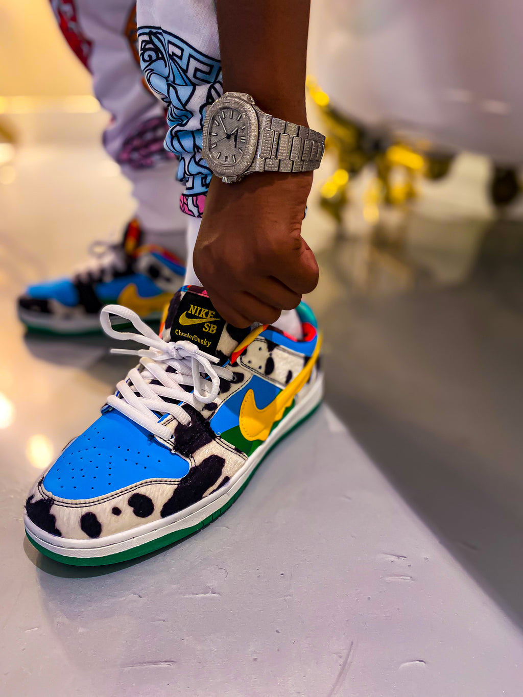 """Cash Cow"" Sneakers"