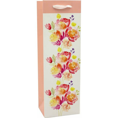 Spring Bouquet Wine Bag
