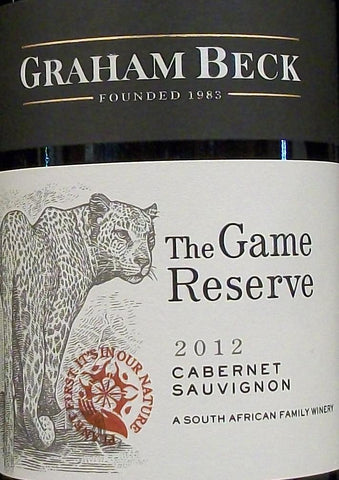 Graham Beck Game Cabernet Rsv