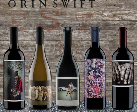 Orin Swift Event - Thursday, May 17th 2018 @ 6:30pm