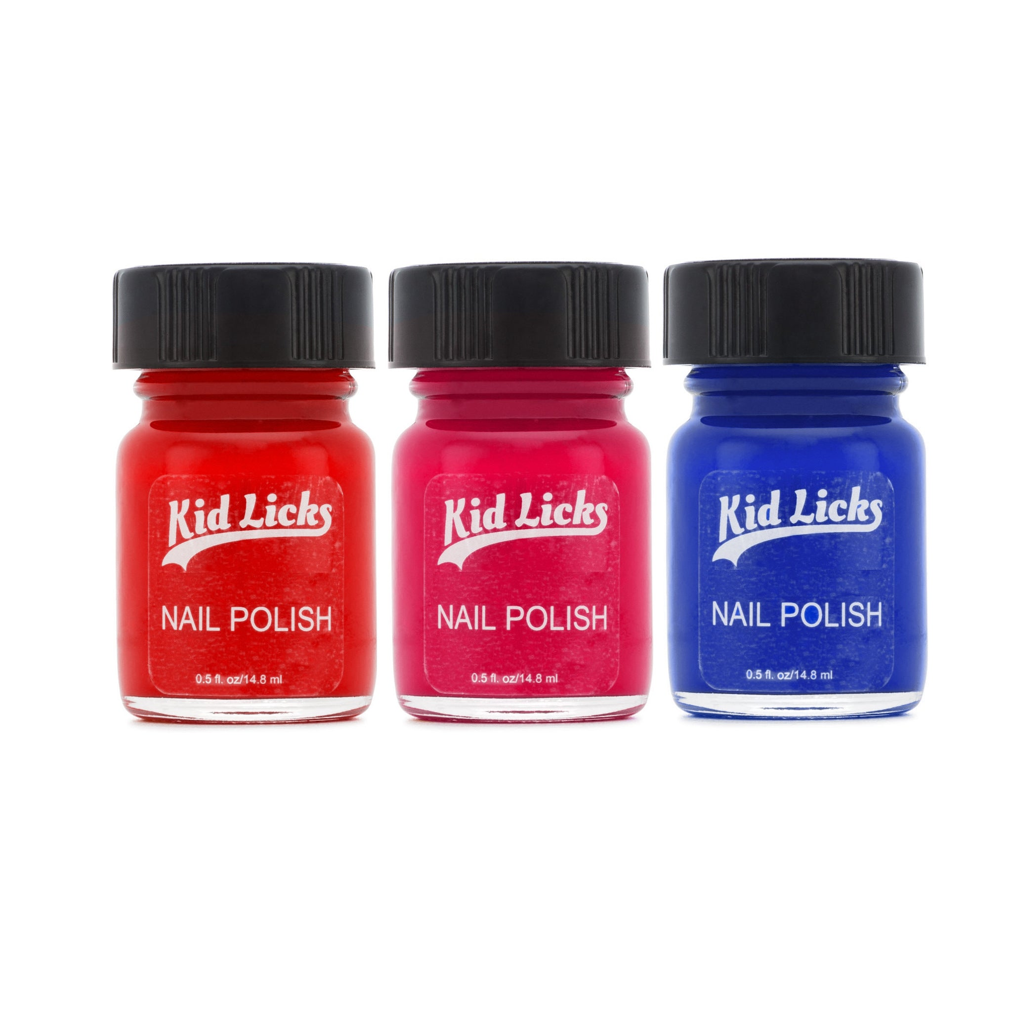 Vibrant Party Pack - 3 Edible Ingredient Nail Polish Colors