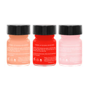 Rose Party Pack - 3 Edible Ingredient Nail Polish Colors