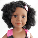 Kayla: A Curly Girls United Doll! with Bonus Nightgown