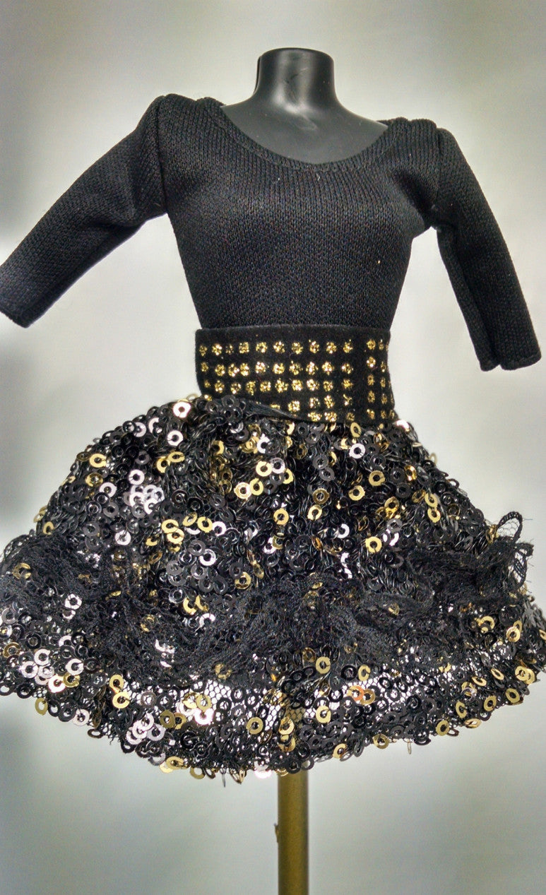 Black Party Dress for Aliyah & Michelle