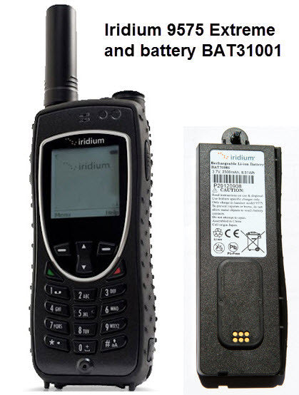 Iridium 9575 Extreme Sat Phone Battery BAT31001